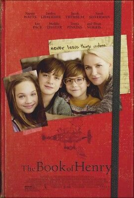 THE BOOK OF HENRY great original D/S 27x40 movie poster (s01)