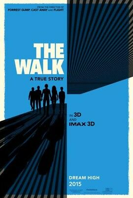 THE WALK great original D/S 27x40 movie poster (s01)