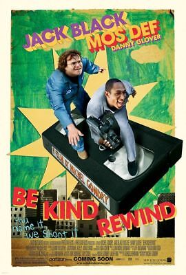 BE KIND REWIND great original 27x40 D/S movie poster (s01)