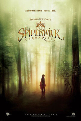 THE SPIDERWICK CHRONICLES adv. great original 27x40 D/S movie poster (s01)