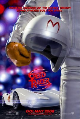 SPEED RACER advance great original 27x40 D/S movie poster (s01)