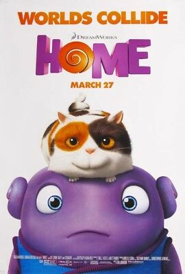 HOME great 27x40 D/S movie poster (s01)