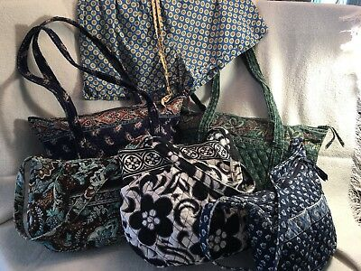6 Piece Vera Bradley Lot - Use, Repair, or Craft Handbags Plus