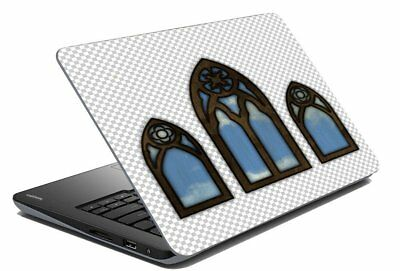 "Abstract Laptop Skin Protector Stickers Decal Notebook Cover Fits 14.1"" x 15.6"""