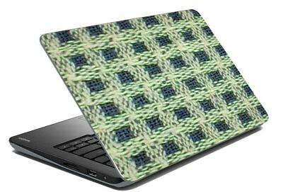 "Checks Laptop Skin Protector Stickers Decal Notebook Cover Fits 14.1"" To 15.6"""
