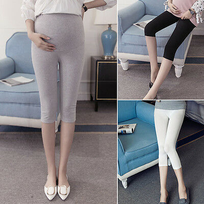 New Adjustable Pregnant Women Abdominal Maternity Pants Belly Leggings Trousers