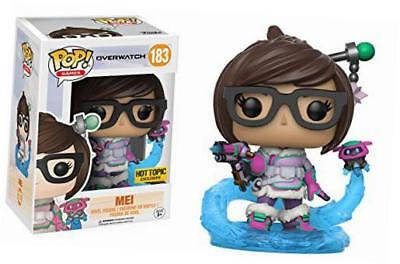 Funko POP Blizzard Overwatch Mei Mid Blizzard Hot Topic Exclusive Mint Box