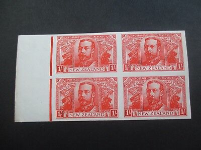 New Zealand Stamps: 1920 Victory Imperf Block of 4  Mint   (F53)