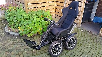 Zoomability 4wd electric all terrain wheel chair