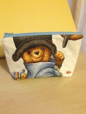 paddington bear Vintage Handmade Makeup Bag