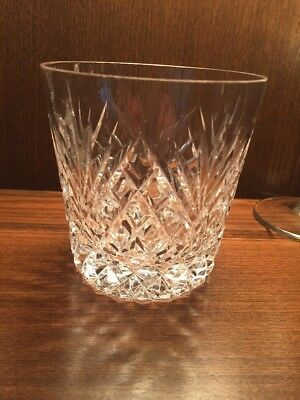 Tyrone Crystal Antrim Suite Whisky Tumblers Glasses No Boxes