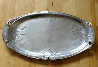 Antique French Silver Plated tray platter GALLIA by christofle 4333