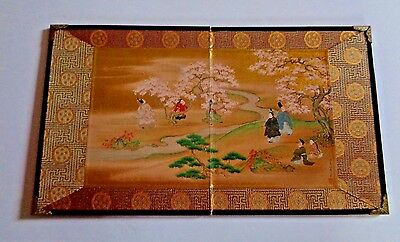 Vintage Japnese Table Screen Small