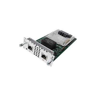 Cisco Expansion Module - 2 T1/E1 Network - For Data Networking - Fast Ethernet