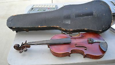 Francois Barzoni A Chateau chierry Antique French Violin With case