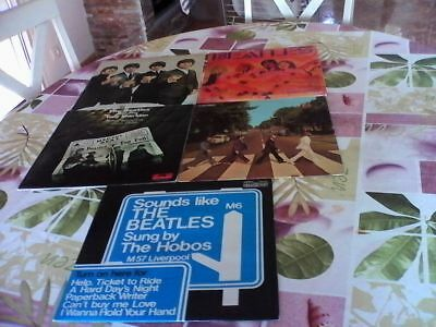 LOT de 10 LP BEATLES