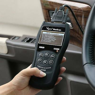 Vgate VS890 Maxiscan OBD2 CAN Car BUS Fault Reader Code Scanner Diagnostic Tool