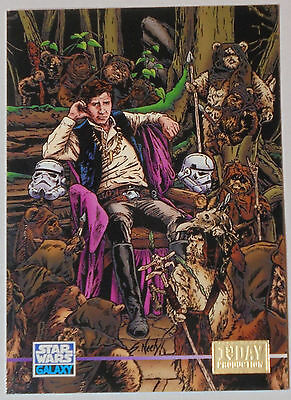"1995 Topps Star Wars Galaxy Series 3 ""1st Day Production""  (Card #348)"