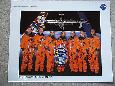STS-117 Autographed 8X10 NASA Crew Photo