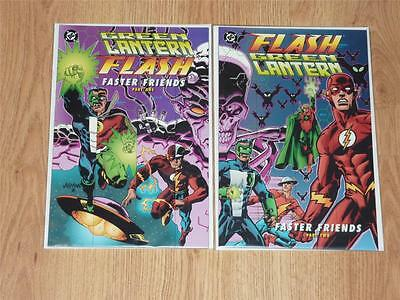 Green Lantern/Flash: Faster Friends #1 to 2 Complete Set - DC 1997 - VFN/NM