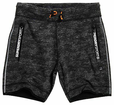 (TG. X-Large) SHORT SUPERDRY M71013PP-FT5 GYM TECH ASH (b6e)