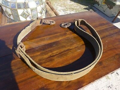 Vintage BELL TELEPHONE SYSTEMS KLEIN TOOLS Lineman Pole Climbing Strap Collector