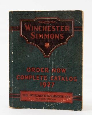 Antique Winchester Simmons Co. Keen Kutter 1927 Complete Catalog Number T