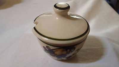 Brixham Pottery Mustard Pot With Lid