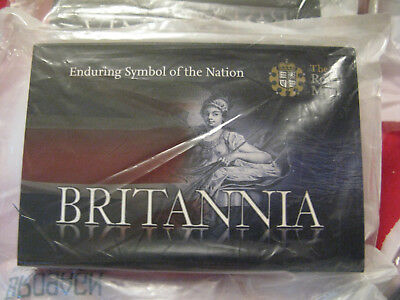 A Boxed Britannia 2009 UK 1oz Silver Bullion Coin BLACK FRIDAY