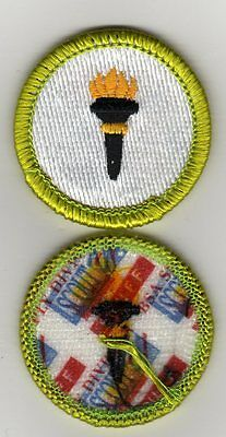 "Public Health Merit Badge, Type J ""Scout Stuff"" Back (2002-10), Mint!"