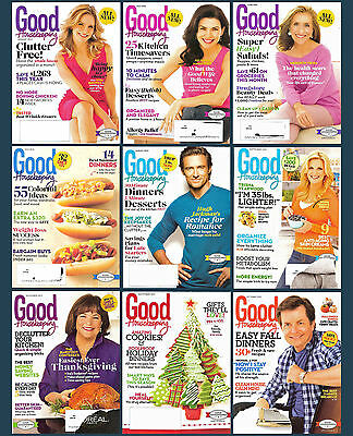 9 back issues Good Housekeeping magazine, all from 2013
