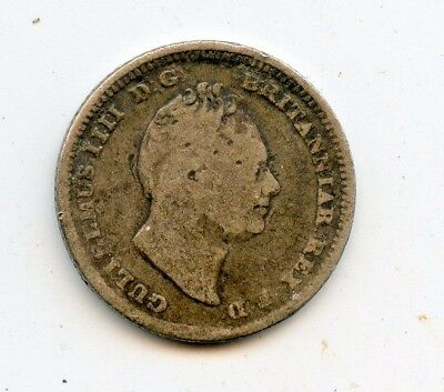 GREAT BRITAIN 1837 4 PENCE  hucky*