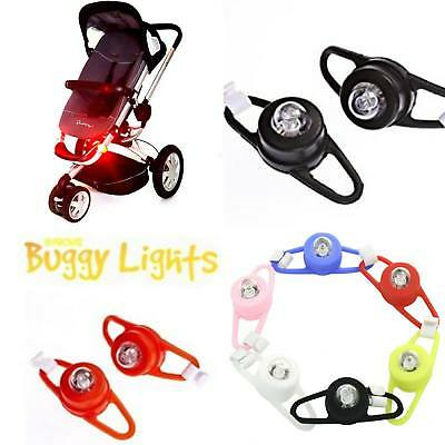 buggy stroller pushchair pram lights reflector safety UK