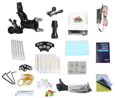 Rotary Tätowierung Tattoomaschine Set Tattoo Netzgerät Tattoo Kit komplett Set