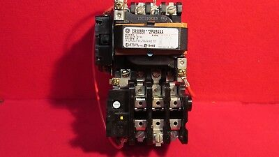 GE CR308B1 Size 0 Motor Starter, rated at 600VAC 18 amps 200/208 volt coil