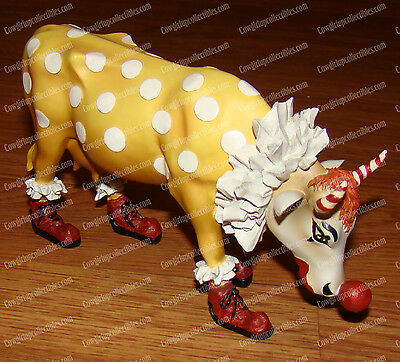 CAN'T HAVE PARADE WITHOUT CLOWN (CowParade by Westland, 9128) New York City 2000