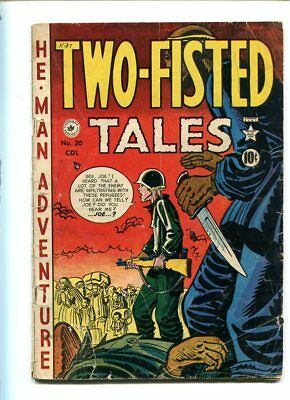 Two Fisted Tales #20 Good Reader Dramatic Cover Canadian Print