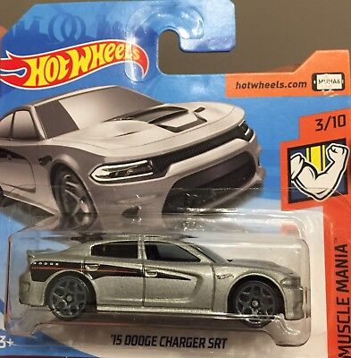Hotwheels 2018, '15 Dodge Charger SRT, Muscle Mania 3/10, Nr. 66/365