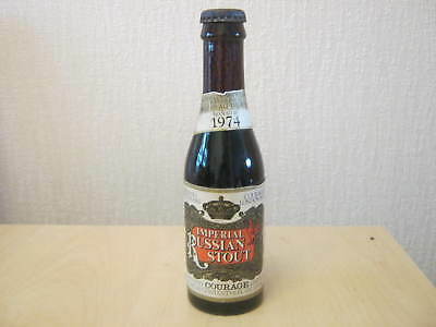 Unopened Collectable Bottle. Courage Russian Stout 1974.
