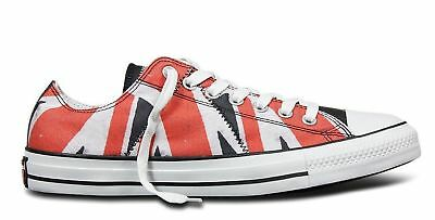 ae1cd3c6cba6 Converse Sex Pistols Chuck Taylor Distressed UK Flag Oxford Sneakers M 11.5  W135