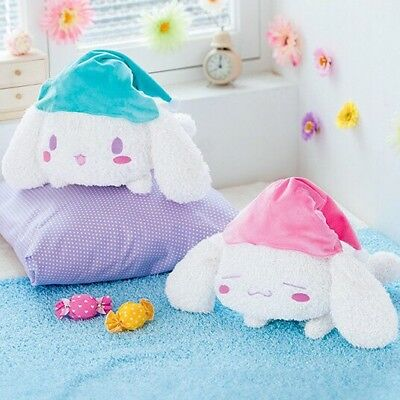 x2 TWO RARE NEW BIG Japan NIGHT Cinnamoroll Plush Plushy Sanrio Doll Toy Kawaii