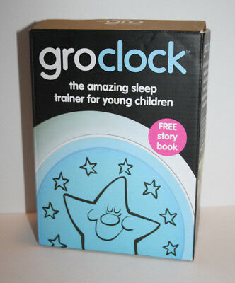 New in Box * GroClock Gro Clock Sleep Trainer for Toddlers Young Children Clock
