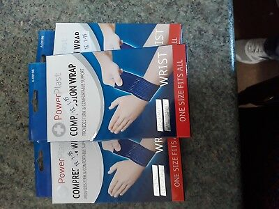 3 Packs Of Wrist Compression Supports