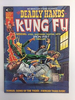 The Deadly Hands Of Kung Fu #10 (1975) Curtis Mid-Grade Copy EARLY IRON FIST