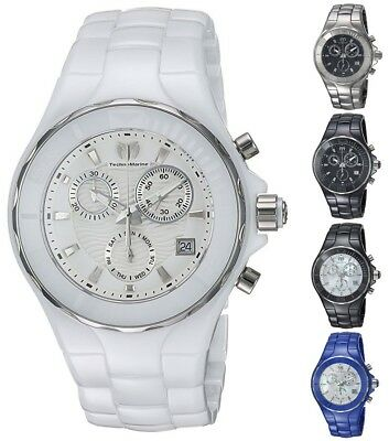 Technomarine Women's Cruise 40mm Ceramic Chronograph Watch - Choice of Color