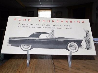 1956 Ford Thunderbird Sales Brochure...NO RESERVE.!!!!