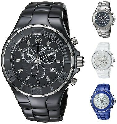 Technomarine Men's Cruise 45mm Ceramic Chronograph Watch - Choice of Color