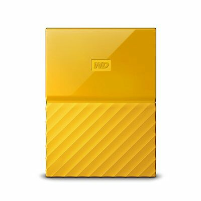 WD WDBYNN0010BYL-WESN My Passport 1 TB External Hard Drive - Portable - USB 3.0