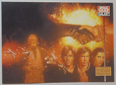 "1995 Topps Star Wars Galaxy Series 3 ""1st Day Production""  (Card #280)"