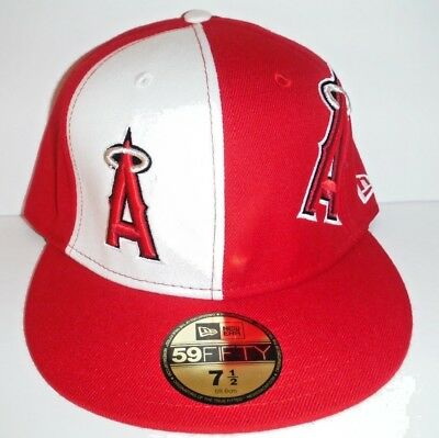 e108090553d Los Angeles Anaheim Angels NWT Authentic New Era 59Fifty Size 7 1 2 Hat Cap